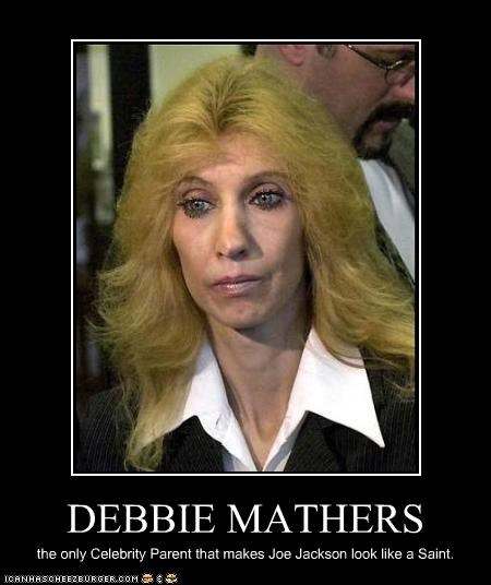 debbie mathersDebbie Mathers Reaction To Headlights